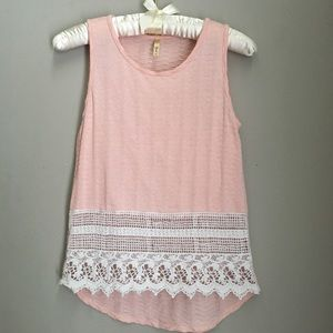 B jewel Pink & White Tank Top | 12